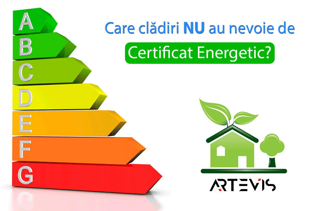 Care cladiri nu au nevoie de certificat energetic