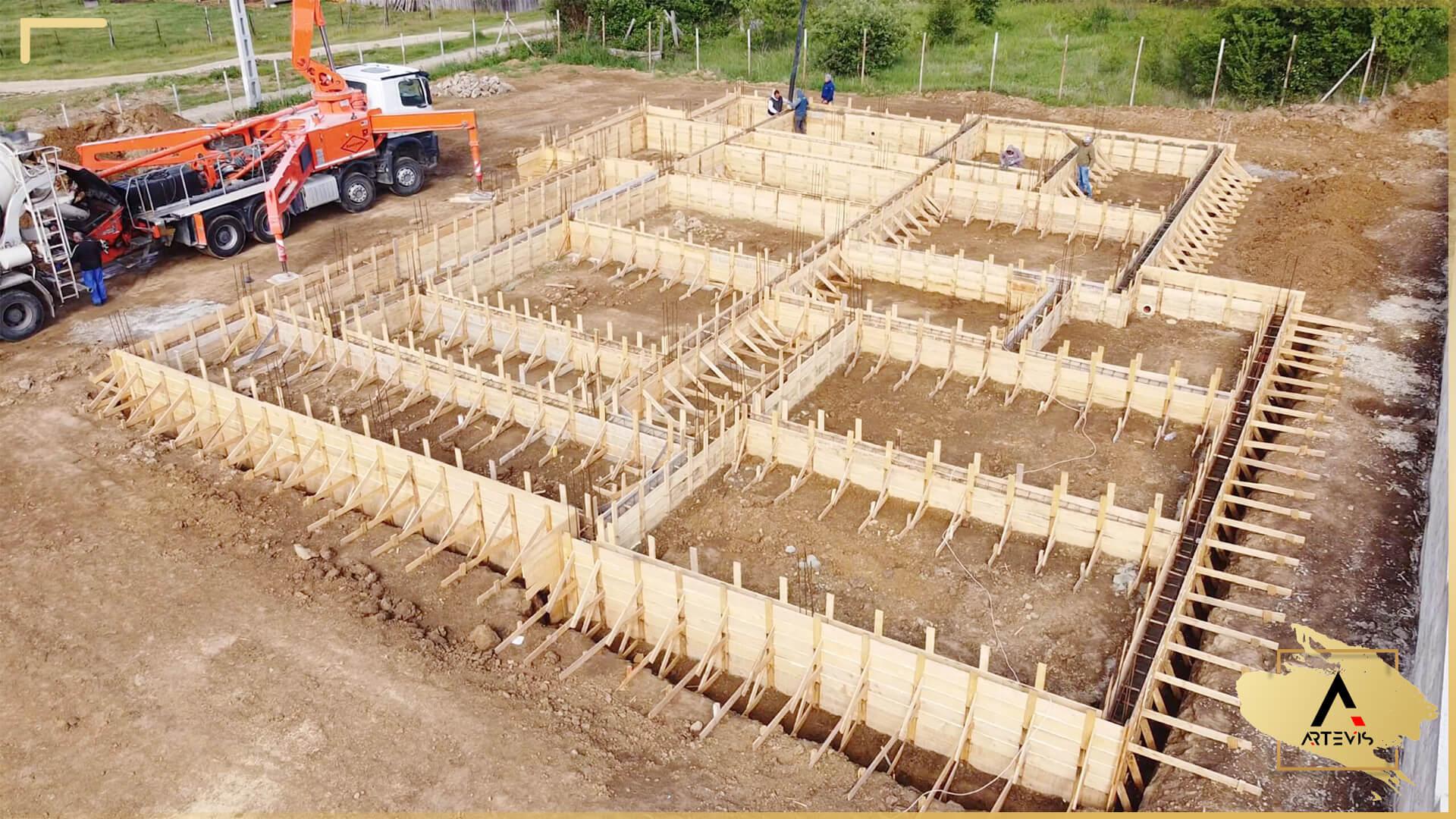 39 Turnare beton soclu elevatie